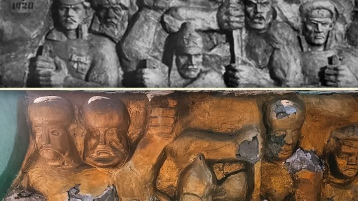 В Зауралье прокуроры обязали чиновников отремонтировать поврежденный памятник воинам