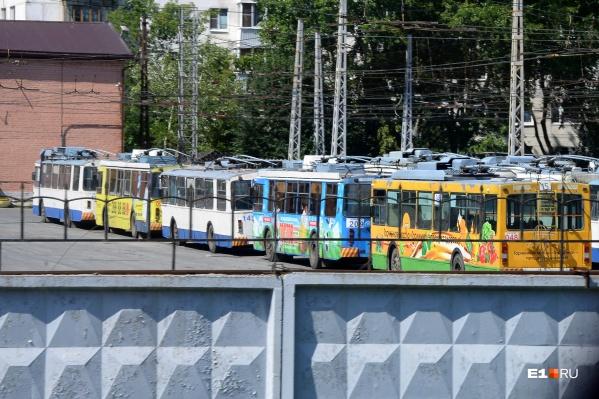 При этом два других троллейбусных маршрута исчезнут
