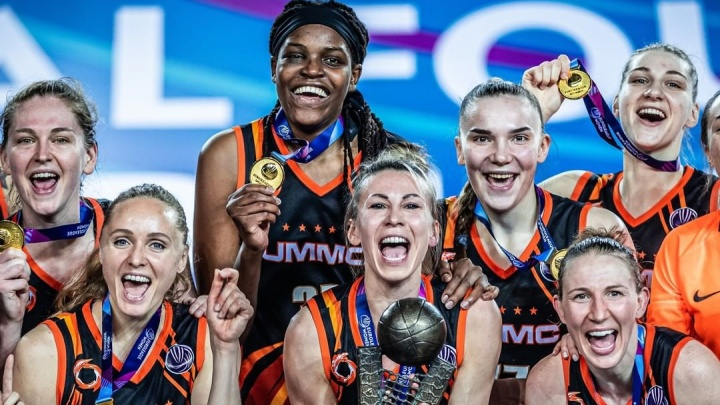 Баскетболистки УГМК выиграли Евролигу