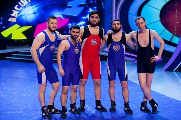 «Борцы — Северный десант» — команда КВН из Сургута, которая примет участие в игре