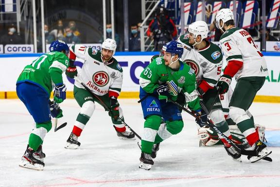 «СЮ» вылетел из плей-офф КХЛ. Команда впервые проиграла серию всухую