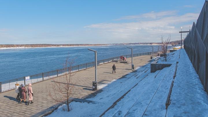 В апреле на набережной Перми начнутся бесплатные беговые тренировки