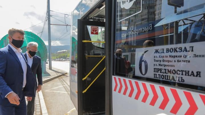 «Нужно время на раскатку»: почему новый троллейбус до Пашенного ходит пустым