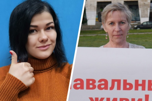 Обе задержанные женщины сегодня выступали на несогласованном митинге