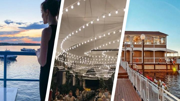 На свежем воздухе и с потрясающим видом: какие рестораны Самары открыли веранды на крыше