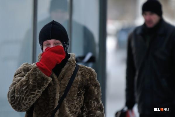 Морозы придут в регион уже в выходные