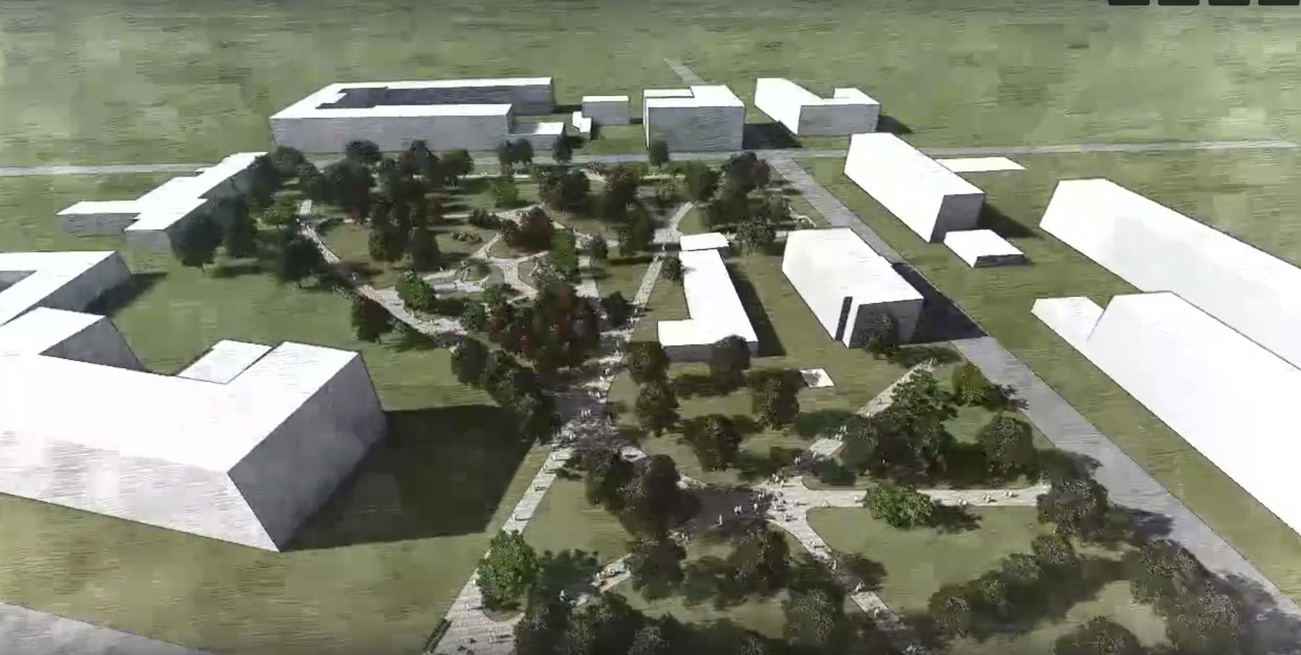 Концепция благоустройства Кондратьевского сада
