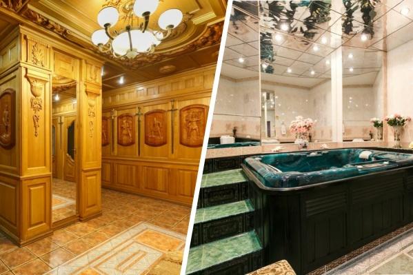 В доме много дерева, причем, как уверяет продавец, ценных пород. За всё это собственник элитного жилья просит 20 миллионов рублей