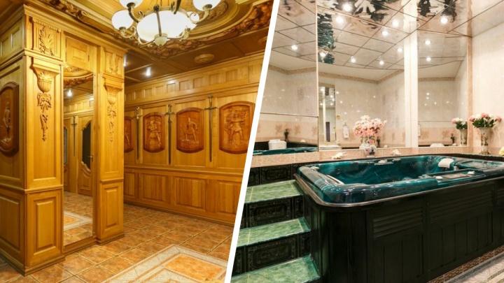 В Новосибирске продают статусную квартиру с деревянным оружейным залом — что еще есть внутри? Смотрим фото