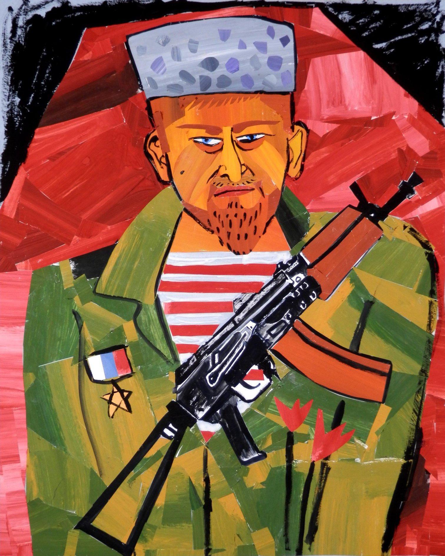 Даже портрет Рамзана Кадырова в гробу не вызвал никаких скандалов