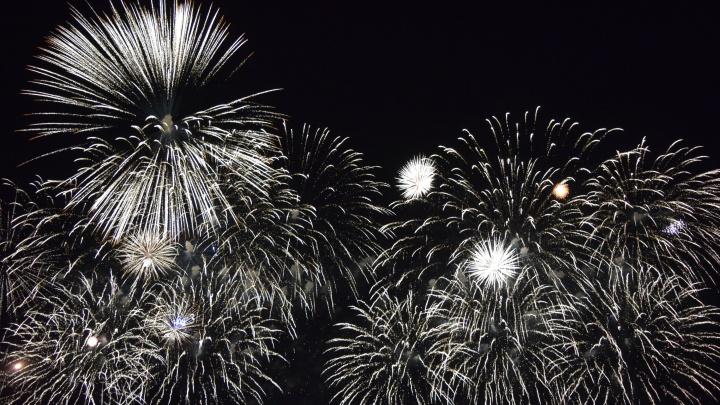 Для тех, кто пропустил! Видео салюта в честь Дня Победы в Самаре с высоты