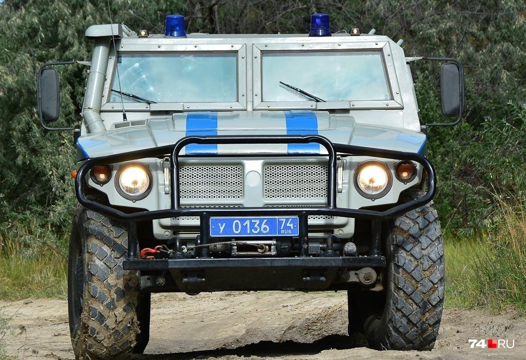 «Тигр» формально является грузовым автомобилем, хотя внешне похож на легковой внедорожник