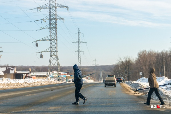 Перекроют участок около Красноглинского шоссе