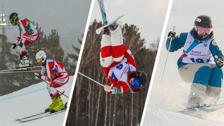 Россия завершила триумфом первенство мира по фристайлу и сноуборду вКрасноярске — самые яркие кадры