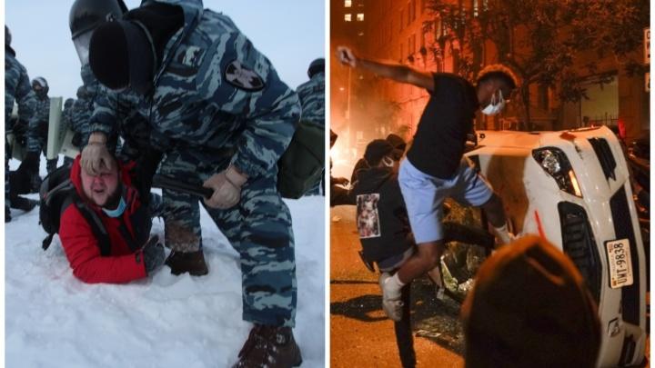 «Сразу мочат»: как отличаются действия полиции в Америке и в России