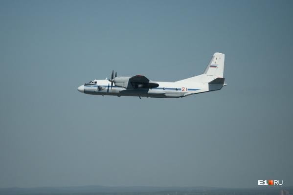 Ан-26 выполнял плановый полет в Палану