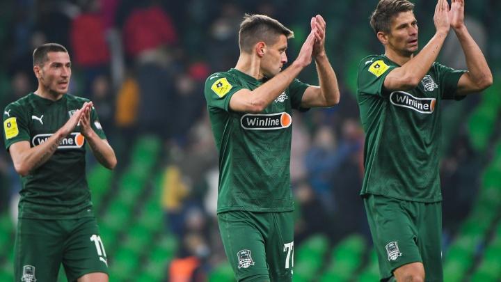«Краснодар» уступил «Сочи» в последнем домашнем матче сезона