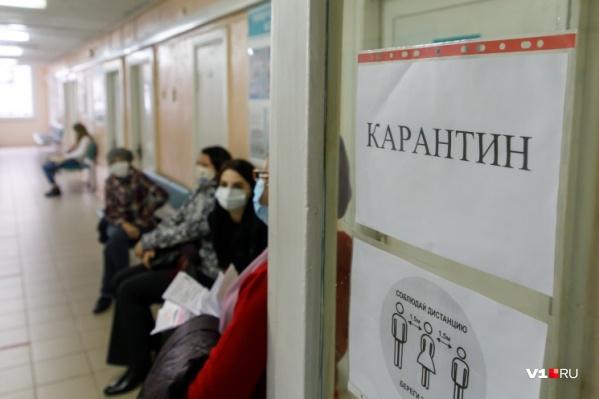 Жители Городища рассказали, что ждали медика в очереди около 40 минут