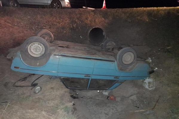 У водителя не было прав на управление автомобилем