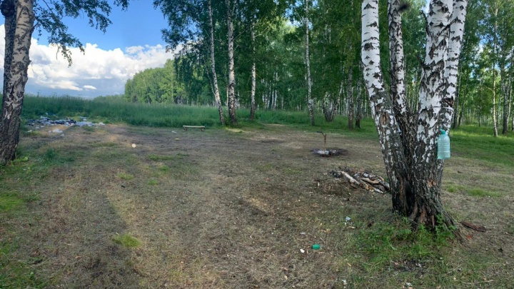 Следователи возбудили дело из-за стрельбы на территории детского лагеря в НСО — фото с места происшествия
