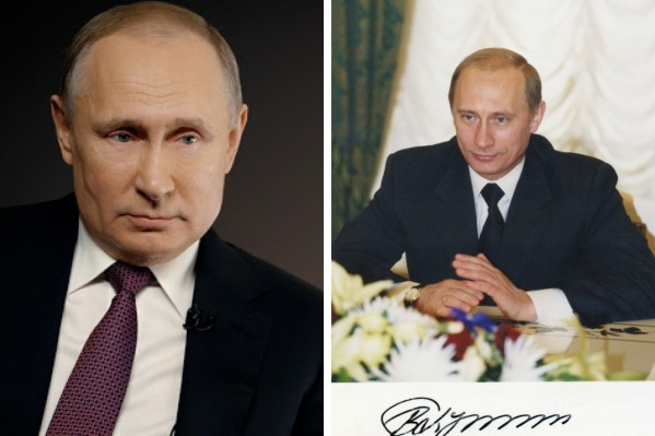 Автограф президента (на фото справа) датирован 2001 годом