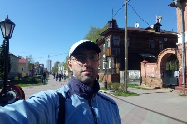 Васим Хассан полюбил Архангельск за время, что здесь провел