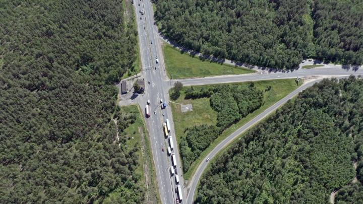 В Нижегородской области на трассе М-7 изменится схема движения