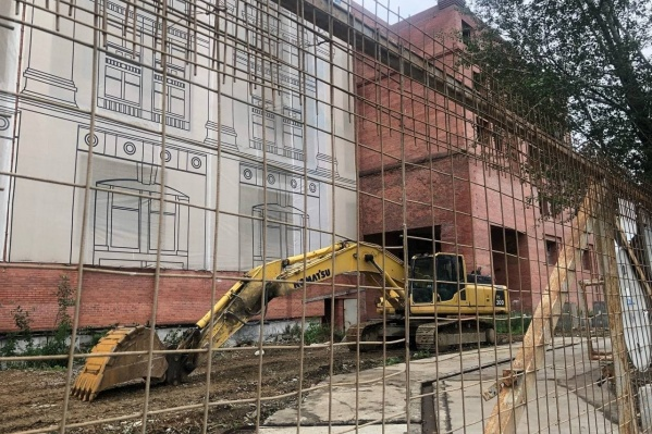На снос здания уйдет всего два месяца
