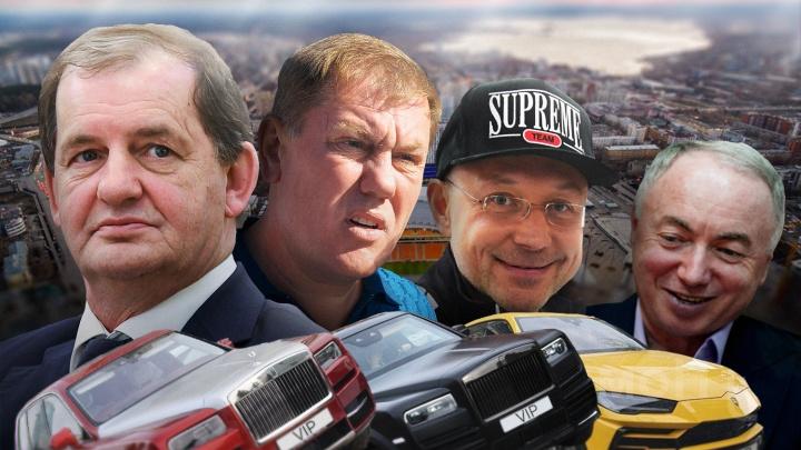 Один автомобиль стоит как пятьдесят Lada: смотрим, на чем ездят уральские олигархи и бизнесмены помельче