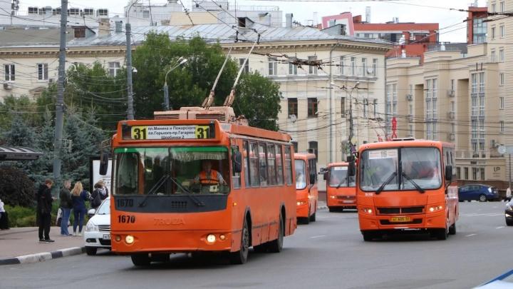 Проехать к инсталляциям. Смотрим, как будет ходить транспорт во время масштабных перекрытий в Нижнем Новгороде