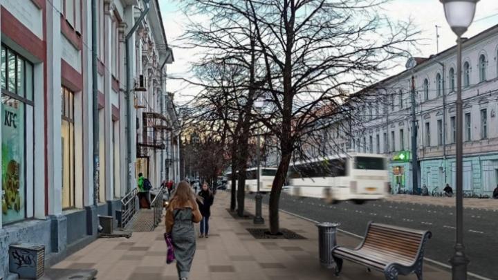 В мэрии Ярославля назвали дату начала ремонта Комсомольской улицы