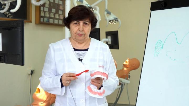 «Как избежать зубной боли?» Профессор рассказала о борьбе с кариесом в Волгограде