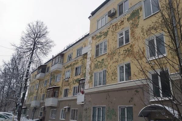 Так выглядит фасад дома после капремонта