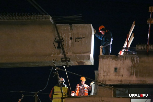 Реконструкция позволит расширить путепровод с четырех до шести полос