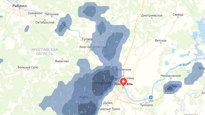 На Ярославль надвигается гроза: МЧС выпустило экстренное предупреждение