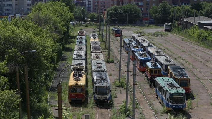 С 1 августа по Уфе перестанут ходить трамваи и троллейбусы
