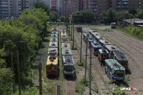 Электротранспорт в Уфе не будет ходить до 6 августа