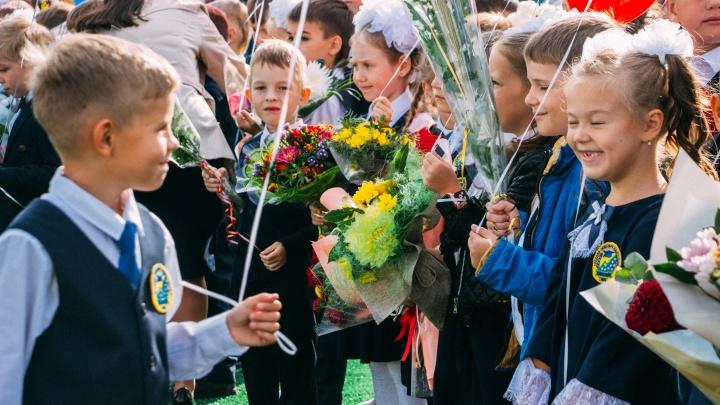 16 первых классов: как в Омске открыли самую большую школу
