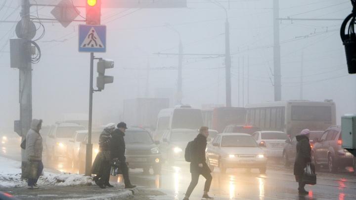 В Нижнем Новгороде ожидаются ледяной дождь и плохая видимость на дорогах