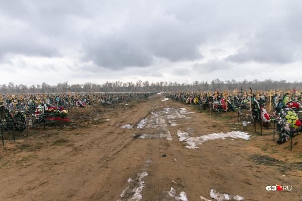 """По прогнозам, места на кладбищах закончатся через <nobr class=""""_"""">5 лет</nobr>"""
