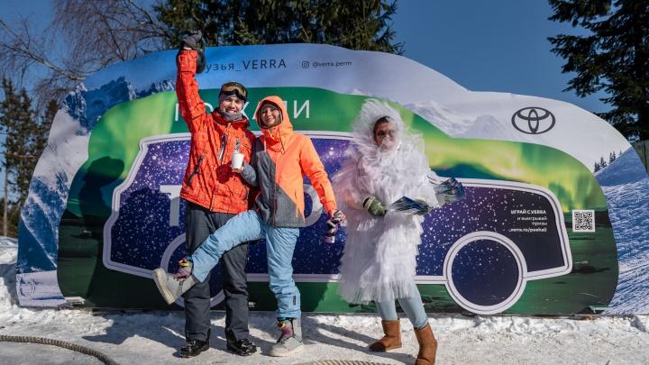 Друзья VERRA провели вместе незабываемый Snow Weekend