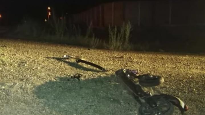 В Башкирии мотоциклист сбил ребенка и скрылся