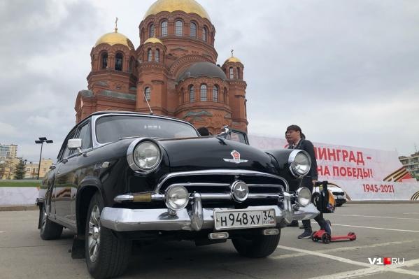 Автопробег стартовал на Центральной набережной и завершился на площади Павших Борцов<br>