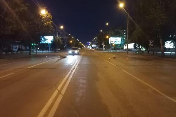 Пешехода сбили на Вокзальной магистрали