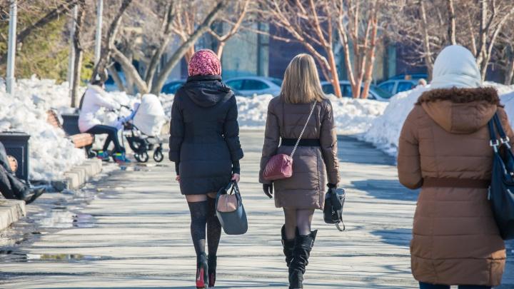 Дождались: в Новосибирске потеплеет до +10градусов (но ночью опять подморозит)