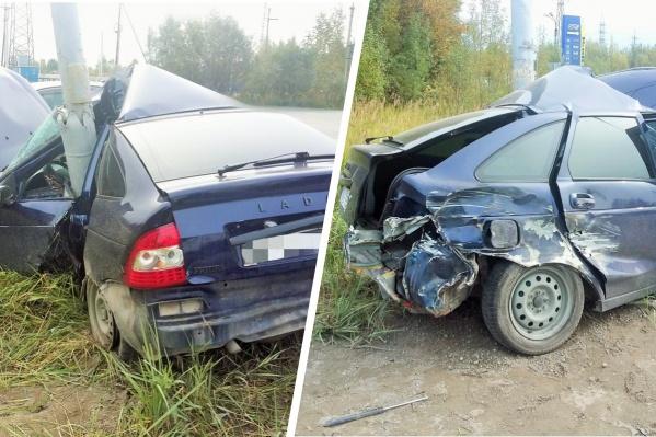 По всей видимости, автомобиль не подлежит восстановлению