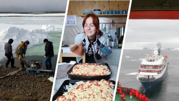 Прогулки по Арктике. Как там живут полярники, и сложно ли девушкам работать наравне с мужчинами