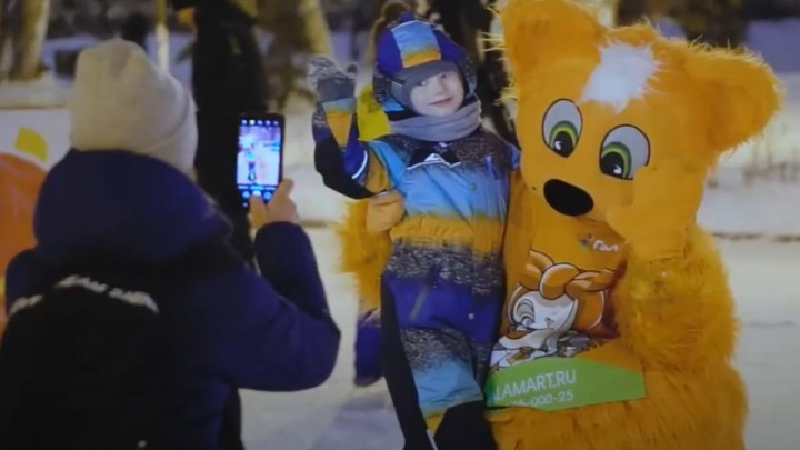 На каток вышли рыжие коты: самарцы запечатлели «ледовое шоу» на фото и видео