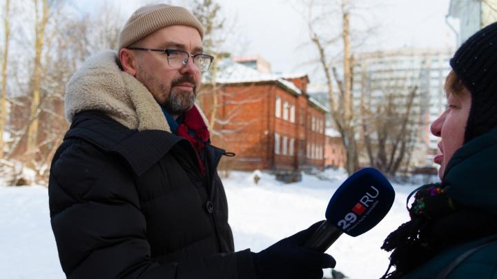 Экс-мэр Александр Донской спросил у архангелогородцев мнение о самом себе. Его никто не узнал
