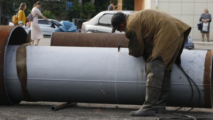 В администрации Архангельска показали предварительную карту подключения горячей воды